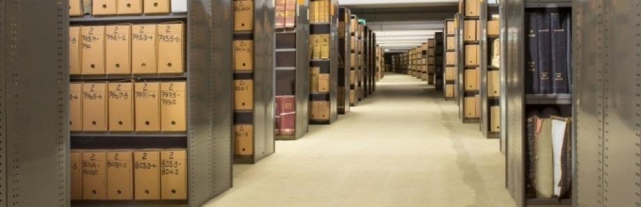 Image via Canberra Museum and Gallery: Noel Butlin Archives (behind the scenes)
